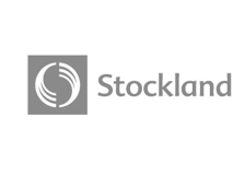 Stockland logo - Brand and Content Agency